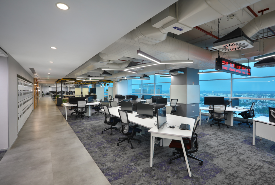Macquarie Group corporate interior design