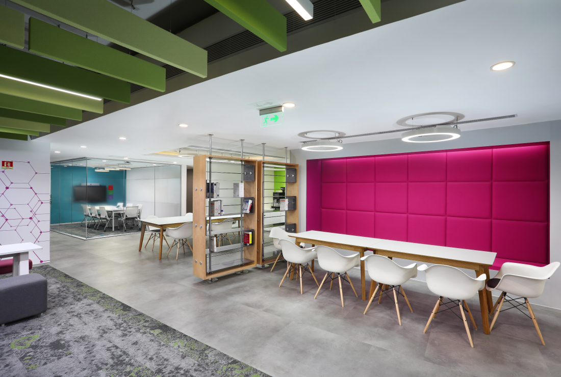 Macquarie Group corporate interior