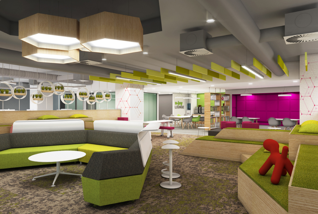 Macquarie Group interior design