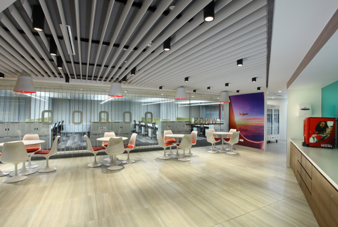 American Express corporate interior